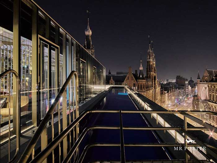 Mr porter amsterdam vind je ideale for Mr porter w hotel amsterdam